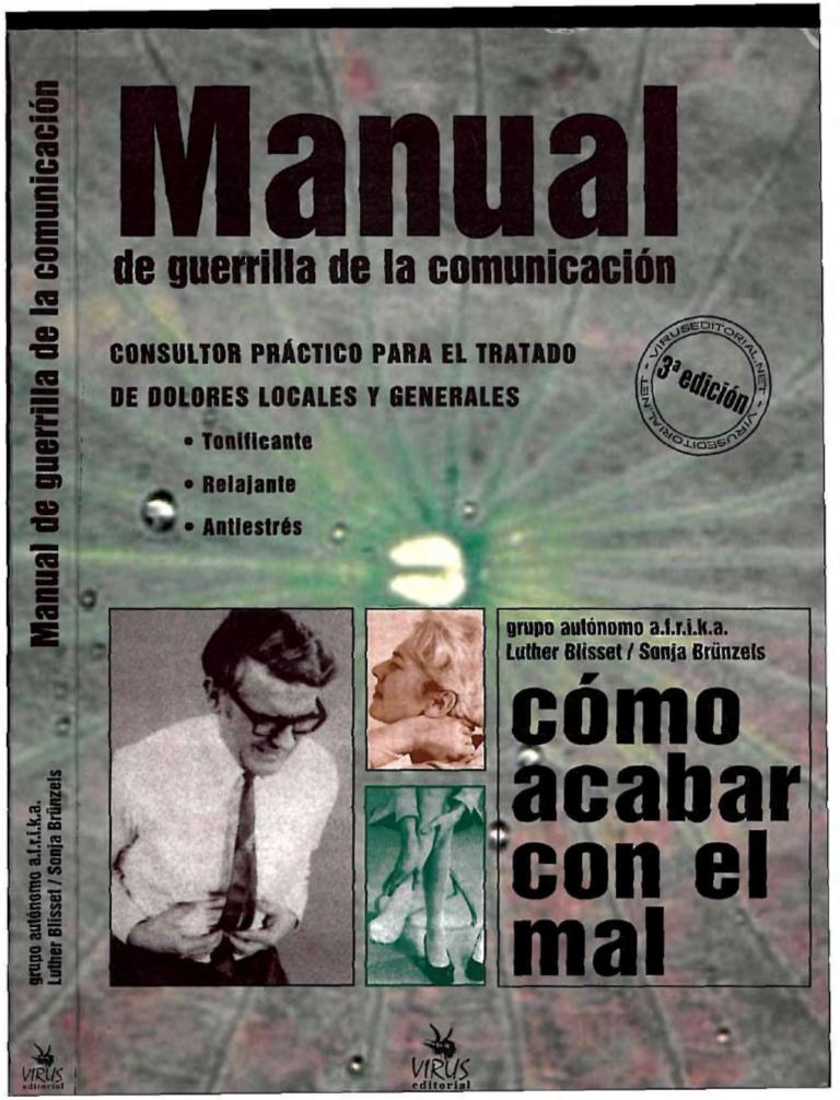 MANUAL DE GUERRILLA DE LA COMUNICACIÓN |